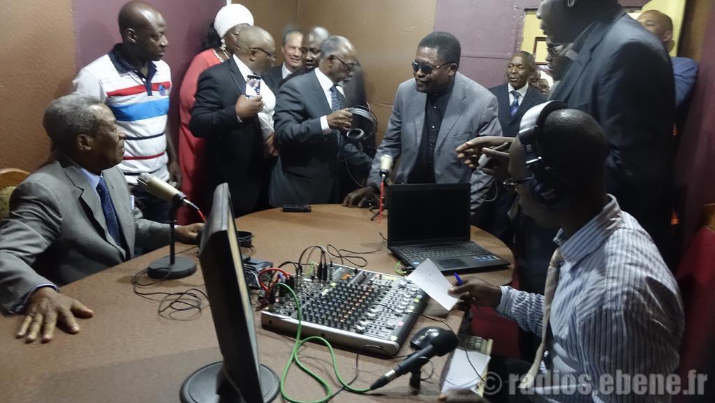 inauguration radio Bangangté