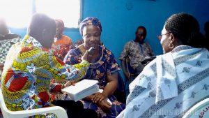 exercices en formation radio RED Abidjan