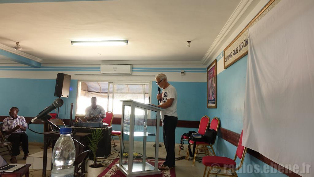 réunion pleinière formation RED Abidjan