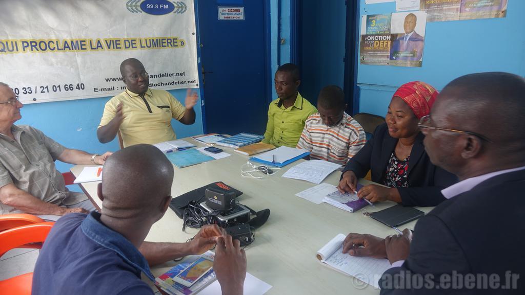 réunion des journalistes Abidjan